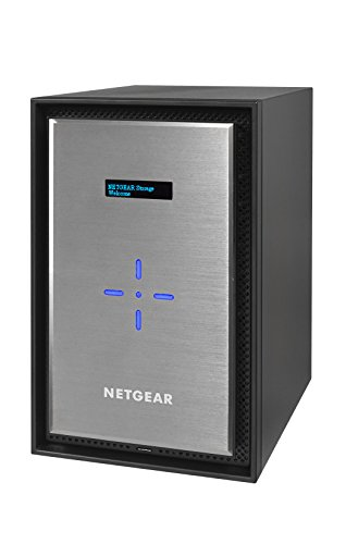 Netgear RN628X00-100NES ReadyNAS 628 Diskless Network Attached Storage, 8-Bay