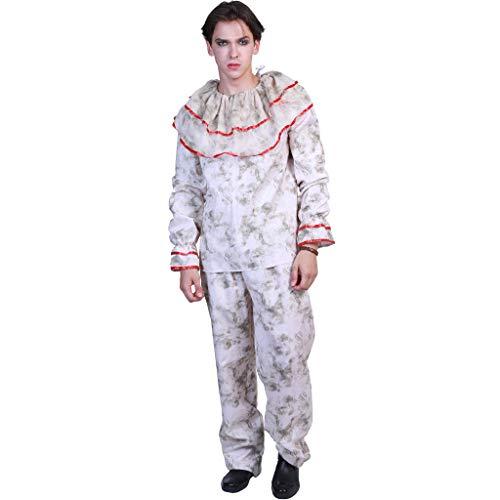Zirkus Party Kostüm - EraSpooky Herren Clown Kostüm Zirkus Faschingskostüme
