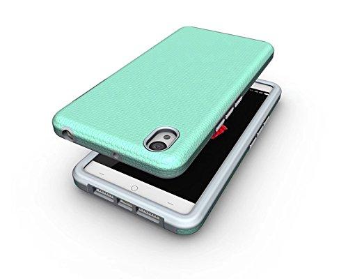 YHUISEN OnePlus X Case, 2 In 1 TPU und PC Ultra Slim Anti-Rutsch Anti-Shock Rüstung Scratch Resistant Schutzhülle für OnePlus X ( Color : Rose ) Green