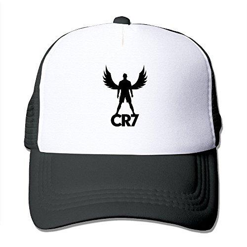 13737f85a16d7 Hittings Vintage CRISTIANO RONALDO CR7 Adult Nylon Adjustable Mesh Hat Mesh  Hat Ash One Size Fits