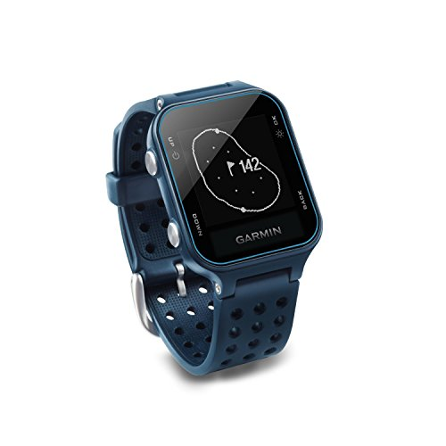 Garmin Approach S20 Golf GPS Watch Midnight Teal with USB Car Charge Adapter Activity Tracker Smart Notifications 40 000 Worldwide Courses