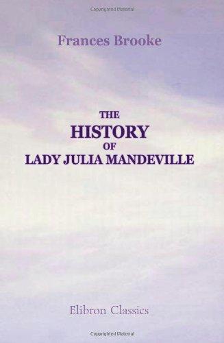 Preisvergleich Produktbild The History of Lady Julia Mandeville