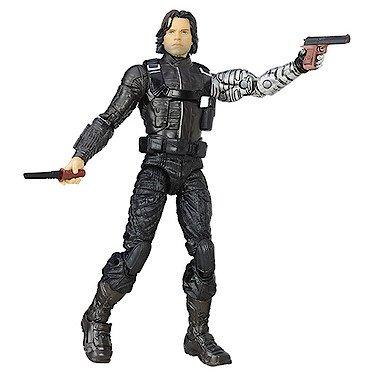 Hasbro – Marvel Legends – Captain America : Civil War – Winter Soldier – Figurine Articulée 15