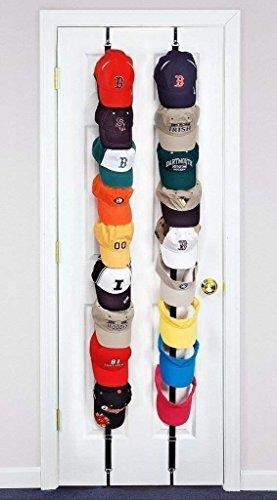 Baseball Cap Rack Storage Zwei Racks Können für Verwendung in Zwei Verschiedenen Räumen Hervorragende Ball GAP Rack Storage Holder Organizer Hüte Regal Cap Holder (Rosa und schwarz) (Snapbacks Hüte)