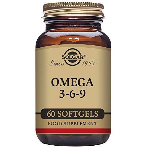 Solgar Omega 3,6 y 9-60 Cápsulas