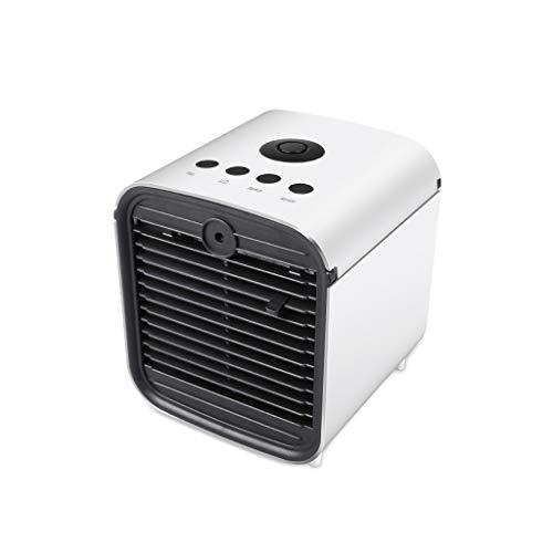 PAN Tragbare Klimaanlage, USB-Luftkühler, Luftbefeuchter, Desktop-Mini-Lüfter, 3 Geschwindigkeiten, für den Innen- und Außenbereich -