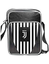 imma Borsello tracolla uomo JUVENTUS prodotto ufficiale Nero in ecopelle Nuovo  Logo 13925 ad590a8ba9d