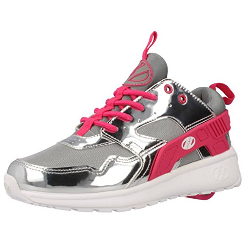Heelys Force, Sneakers basses garçon Argent (Silver / Grey / Pink)