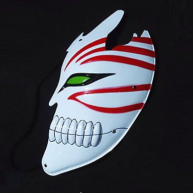 Cosplay- Hollowed Ichigo Half Face Cosplay Mask Test