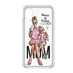 Idea Regalo - Festa della Mamma 3 Cover Smartphone Custodia per Tutti Modelli Apple iPhone Samsung Huawei 6 Idea Regalo super migliore mamma al mondo speciale queen king mother day regalo divertente