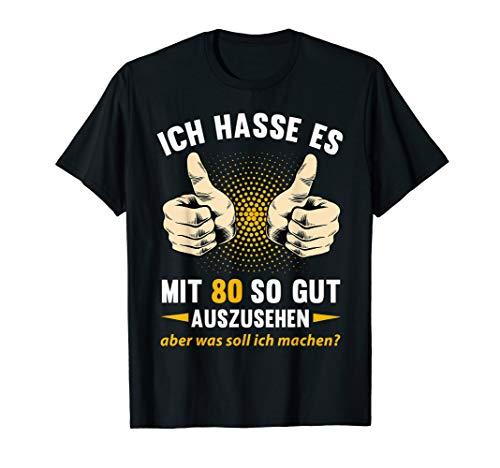 80. Geburtstag Mann 1939 T-Shirt   80 Jahre Geschenk Shirt -