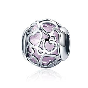Einhorn-Charm, 925erSterling-Silber, für Pandora, für europäische Armbänder geeignet