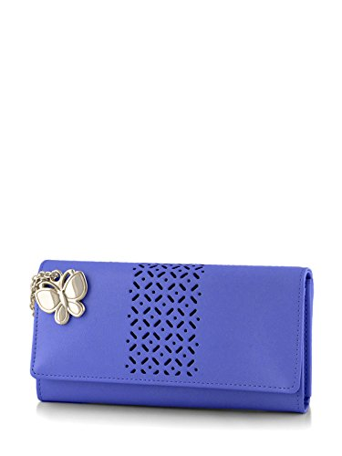Butterflies Women's Wallet (Blue) (BNS 2386BL)  available at amazon for Rs.448