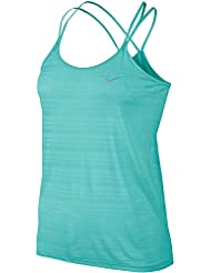 Nike Damen Df Cool Breeze Strappy Tank Oberbekleidung