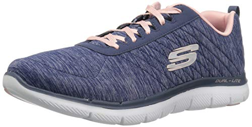 new style 963a4 e6acb Skechers Flex Appeal 2.0, Zapatillas para Mujer, Azul (Navy Nvy), 38