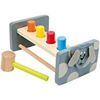 Legler Hammer Bench Turnaround Board Dog Preschool Learning Toy
