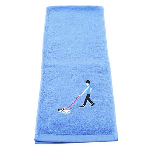 Sevenfly Baumwolle Weiche Handtuch Quick Dry Micro Reise Handtücher für Schwimmbad Camping Gym Sport Yoga, Stil 4
