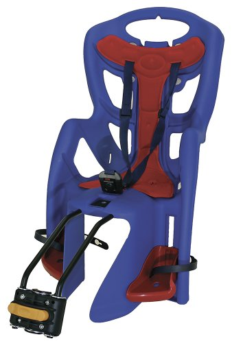 MESSINGSCHLAGER LIGHT   SILLA INFANTIL PARA BICICLETA  COLOR AZUL