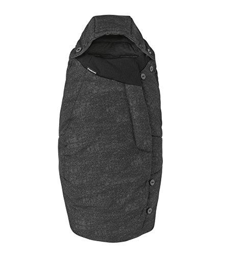 Maxi-Cosi Universal Fußsack passend für Kinderwagen und Buggy, nomad black