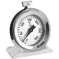 Lantelme 5843 Backofenthermometer 300 Grad Celsius aus Edelstahl - Analoge Temperaturanzeige