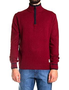 Carrera Jeans - Suéter 844 para hombre, color liso, ajuste regular, manga larga