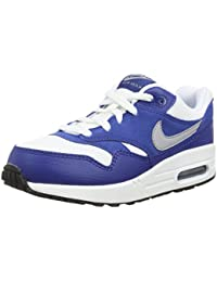 best service 71f19 5e47c Nike - Air Max 1 PS - Couleur  Blanc-Bleu - Pointure  29.5