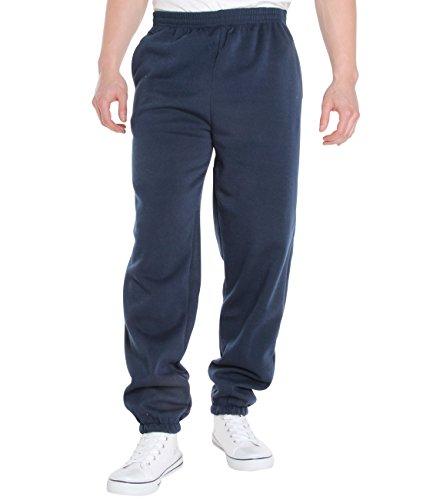 KRISP® Herren Jogginghose mit Fleece Innenfutter Marineblau (7829)