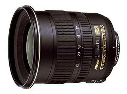 Nikon 12-24 mm f/4.0 S DX ED-IF - Objetivo para Nikon (distancia focal 12-24mm, apertura f/4, diámetro: 77mm) color negro