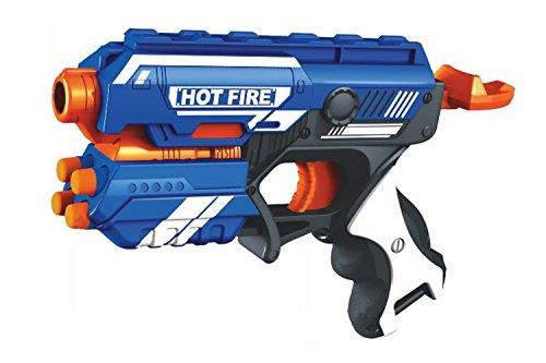 Webby Foam Blaster Gun Toy 10 Bullets