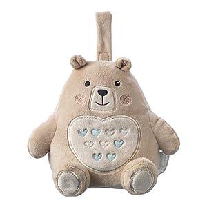 Tommee Tippee Grofriend, Wideraufladbare Einschlafhilfe für Babys, Spieluhr aus Plüsch, Berühigende Geräusche und Weißes…