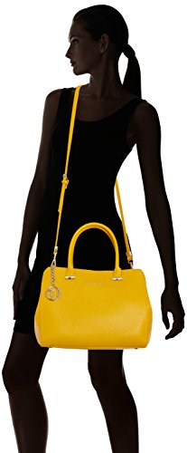 Trussardi 75b491xx53, Borsa a Mano Donna, 37 x 27 x 19 cm (W x H x L) Multicolore (Yellow P16)