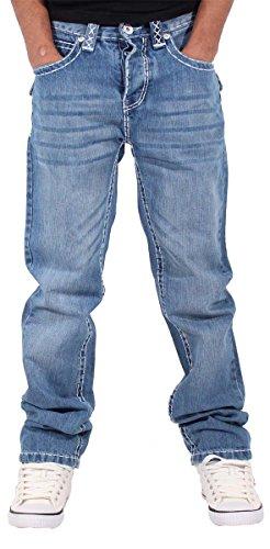 peviani-herren-straight-leg-jeanshose-blau-blau-gr-32-w-33-l-blau