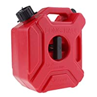 Backbayia 3L Fuel Can Portable Container Tank Accessory Motorcycle Auto Travel