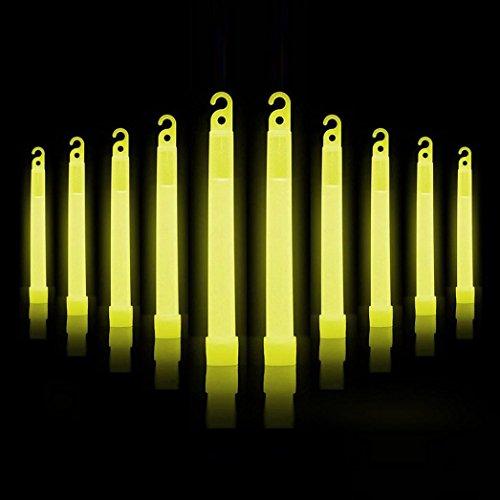 wanshop® 100Premium gelb Glow Sticks Fluoreszierendes Neon Party Hot Geschenk