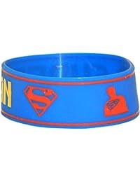 NPRC Casual Wrap Band Rubber Bracelet Fashion Rubber Wrist Band For Women Men - B07CPVKFZ5