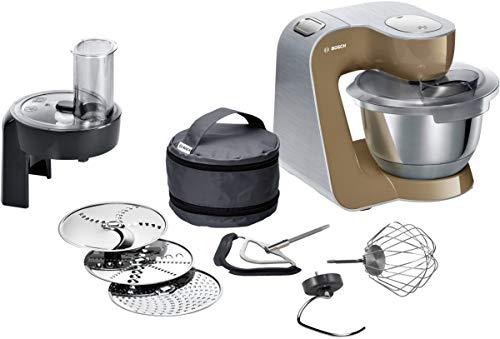 Bosch MUM58C10 CreationLine Küchenmaschine, Kunststoff, champagne -