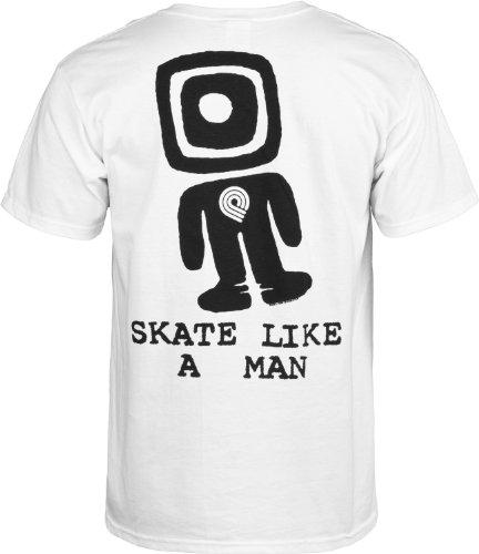 Powell Peralta Skate wie ein Man T-Shirt weiß