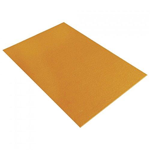 Rayher 5311930 Textilfilz, 30x45x0,4cm, mais