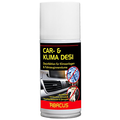 Preisvergleich Produktbild CAR- & KLIMA DESI 150 ml (3109) --- Klimareiniger Klimaanlagenreiniger Klimadesinfektion Klimaanlagendesinfektion Klima Anlagen Reiniger Desinfektion - Air Conditioner Cleaner AC-Cleaner -- ABACUS