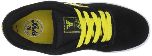 Fallen SEVENTY SIX 41070060, Chaussures de skateboard homme Noir-TR-SW591