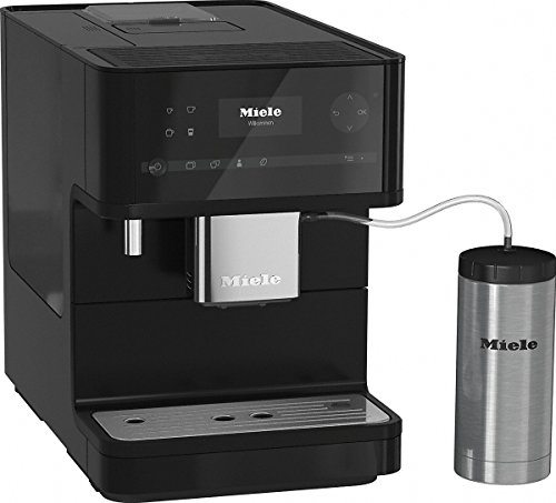Miele CM 6350 Black Edition Stand-Kaffeevollautomat BlackEdition
