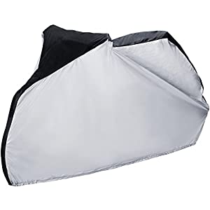 Zacro Cubierta Protector Impermeable al Aire libre Contra Lluvia,Sol,Polvo para Bicicleta de Súper Pesado,Bicicleta de Montaña y de Carretera