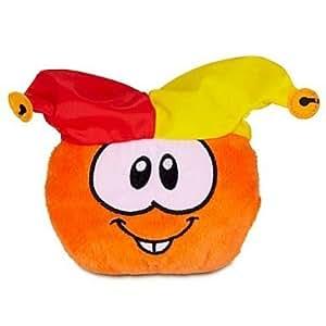 Puffles peluche. Club Penguin. Arlequin Orange