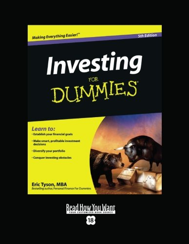 Investing For Dummies (Volume 1 of 2) (EasyRead Super Large 18pt Edition)