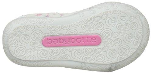 Babybotte Savana, Baskets Hautes Fille Blanc (Blanc/Pissenlits)