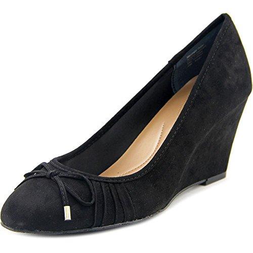 Style & Co Florah Femmes Simili daim Talons Compensés Black
