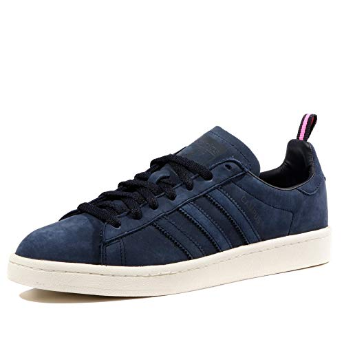 separation shoes 09182 4e1c9 adidas Originals Campus Basket Moda Uomo, Blu (Blu), 47 1 3