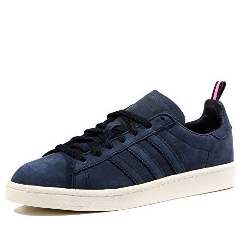 separation shoes 7b310 3bdec adidas Originals Campus Basket Moda Uomo, Blu (Blu), 47 1 3