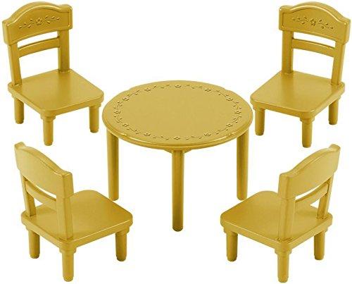 Sylvanian Families 5144 Tisch mit Stuhl-Set, Mehrfarbig