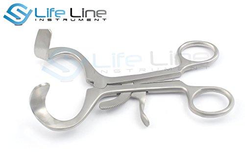 Lifeline Instruments® Stumme Mund Knebel Kind Instrumente von Edelstahl